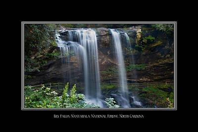 Photograph - Dry Falls North Carolina by Charles Beeler