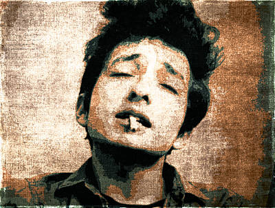 Bob Dylan Digital Art - Dylan by John Emery
