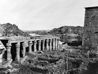 Egyptian Goddess Isis Photograph - Egypt Island Of Philae by Granger