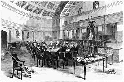 Democrat Painting - Electoral Commission, 1877 by Granger