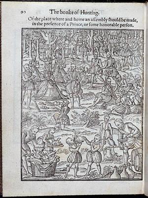 Elizabeth I Print by British Library