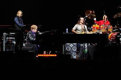 Water Droplets Sharon Johnstone - Elton John by Jenny Potter