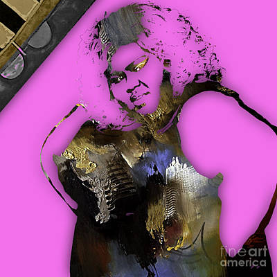 Poster Mixed Media - Empire's Gabourey Sidibe Becky by Marvin Blaine