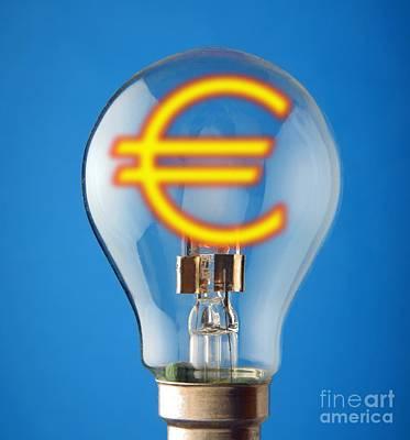 Energy Costs, Conceptual Image Art Print by Victor de Schwanberg