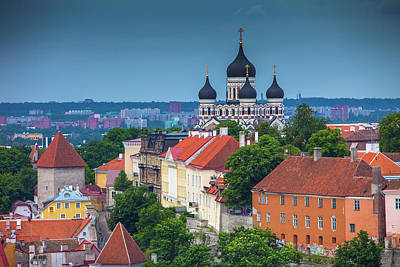 Estonia, Tallinn Art Print