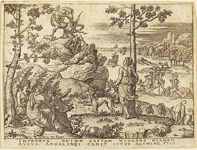 Etienne Delaune French, 1518-1519 - 1583 Art Print