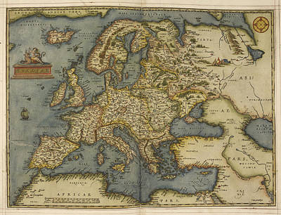 Europe Art Print by British Library