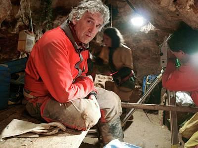 Early Human Photograph - Excavations At Sima De Los Huesos by Javier Trueba/msf