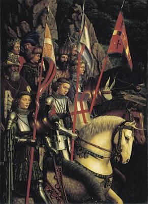 Eyck, Jan Van 1390-1441 Eyck, Hubert Art Print
