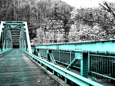 Photograph - Fayette Station Bridge by Amy Sorrell