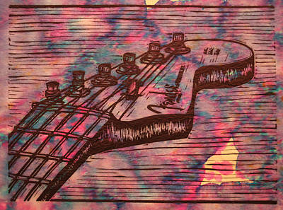 Fender Strat Art Print by William Cauthern