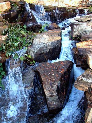 Photograph - Finlay Park Waterfall 3 by Lisa Wooten