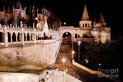 Gothic Photograph - Fisherman's Bastion In Budapest by Michal Bednarek