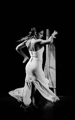 Flamenco Art Print by Andrea Mazzocchetti