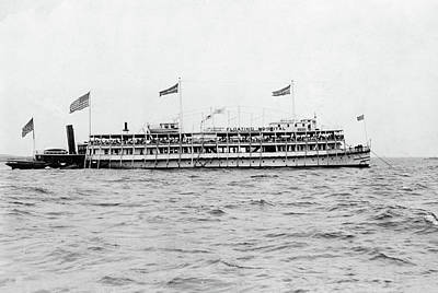 Photograph - Floating Hospital, C1910 by Granger