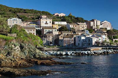 Haute Photograph - France, Corsica, Le Cap Corse by Walter Bibikow
