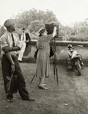Photograph - Frances Benjamin Johnston (1864-1952) by Granger