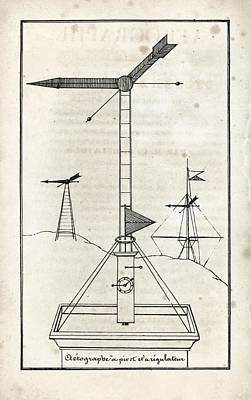 1833 Photograph - French Optical Telegraph System by King's College London