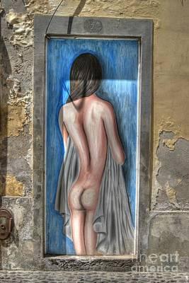 Photograph - Funchal Door Art Nude by David Birchall