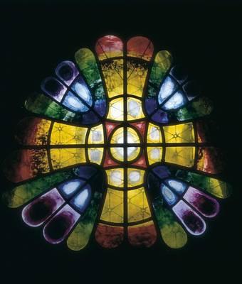 Coloured Glass Photograph - Gaudi I Cornet, Antoni 1852-1926 by Everett