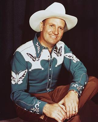 Autry Photograph - Gene Autry by Silver Screen