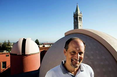 Uc Berkeley Photograph - Geoffrey Marcy by Peter Menzel