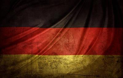 German Flag Art Print by Les Cunliffe