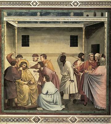 Giotto Di Bondone 1267-1337. Scenes Art Print by Everett