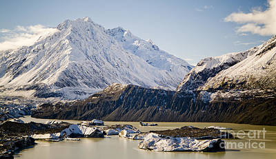 Hiking Photograph - Glacial Mountains by Tim Hester