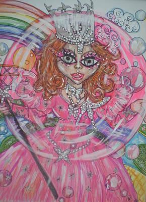 #5 Glinda The Good Witch Art Print by Terri Allbright