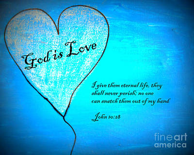 Painting - God Is Love by Amanda Dinan