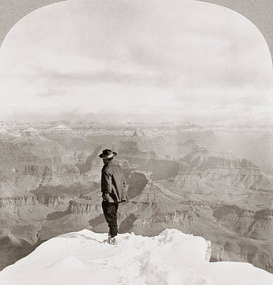 Grand Canyon Of Arizona Painting - Grand Canyon Sightseer by Granger