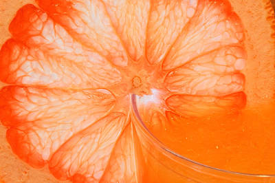 Photograph - Grapefruit by Peter Lakomy