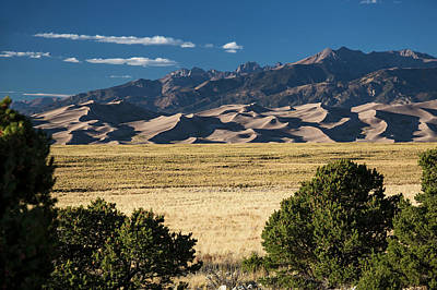 Great Sand Dunes Photograph - Great Sand Dunes National Park by Jim West