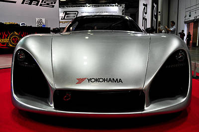 Photograph - Grey Sports Car by Chua  ChinLeng