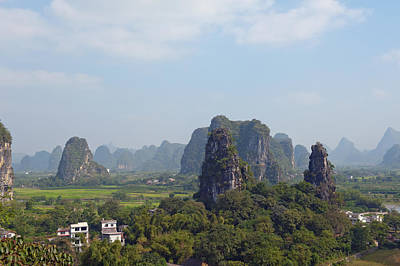 Photograph - Guilin Mountains China by Marek Poplawski