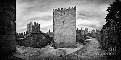 Watchtower Photograph - Guimaraes Castle by Jose Elias - Sofia Pereira