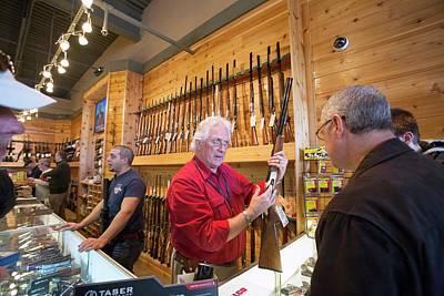 Gun Store Art Print by Jim West