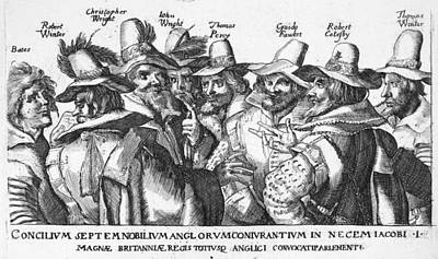 Bates Painting - Guy Fawkes (1570-1606) by Granger