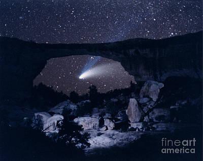 Hale-bopp Comet Art Print