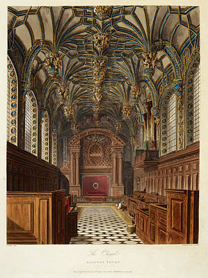 Royal Chapel Photograph - Hampton Court by British Library