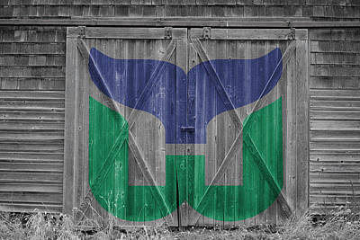 Photograph - Hartford Whalers by Joe Hamilton
