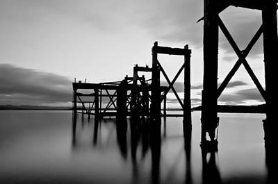 Photograph - Hawcraig Pier by Jean-Noel Nicolas