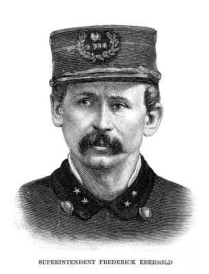Drawing - Haymarket Riot 1886 by Granger