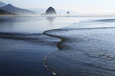 Photograph - Haystack Rock From Chapman Point by Steven A Bash