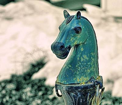 Photograph - Hitching Post by JAMART Photography
