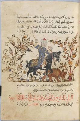 Horseman Art Print by British Library