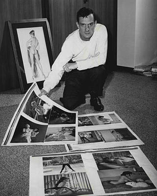 Editor Photograph - Hugh Hefner by Retro Images Archive