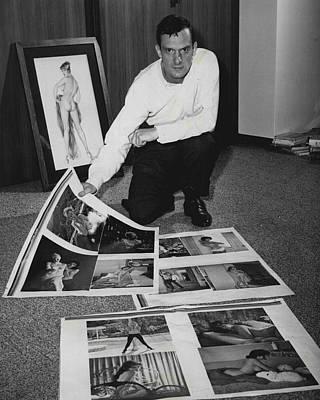 Universities Photograph - Hugh Hefner by Retro Images Archive
