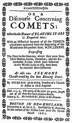 Increase Mather (1639-1723) Art Print by Granger